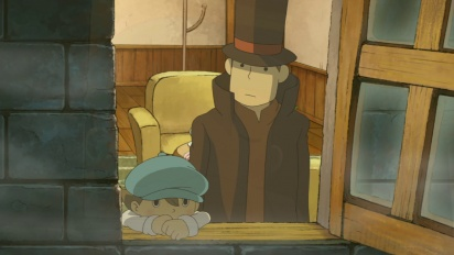 Professor Layton and the Last Specter - Trailer E3