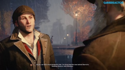 Assassin's Creed: Syndicate - Lambeth Asylum with Jacob Frye PS4 Gameplay