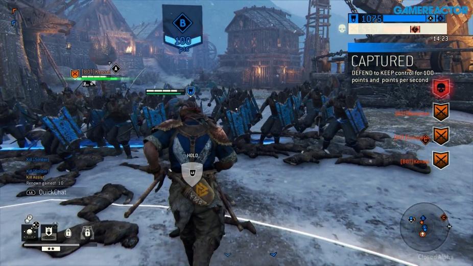 For Honor - Berserker Alpha Gameplay