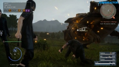 Final Fantasy XV - Gameplay