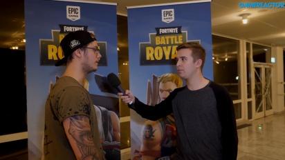 DreamHack Winter - Fortnite Battle Royale: Ettnix Interview