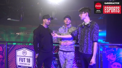 FUT Champions Cup Manchester - F2Freestylers Interview