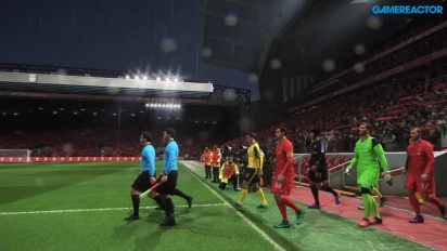 Pro Evolution Soccer 2017 - Liverpool vs Arsenal at Anfield Data Pack 2.0 Gameplay