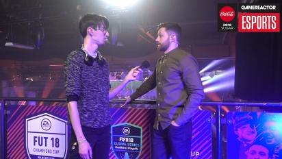 FUT Champions Cup Manchester - Spencer Owen Interview