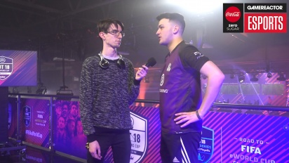 FUT Champions Cup Manchester - Hashtag Harry Interview