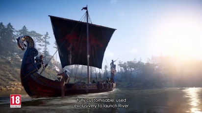 Assassin's Creed Valhalla - River Raids Trailer