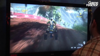 E3 11: MX vs ATV Alive Gameplay