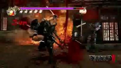 Ninja Gaiden 2 - Gameplay Trailer