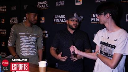 Overwatch League Finals - Goldenboy and Malik Forte Interview