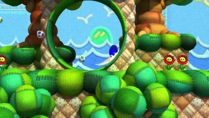 Sonic Lost World - Yoshi's Island Zone Trailer