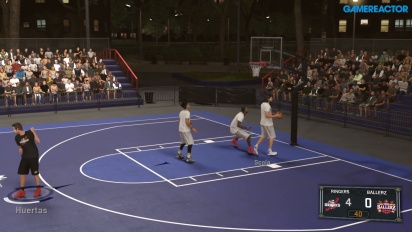 NBA 2K17 - Blacktop Gameplay