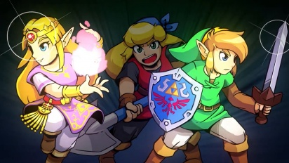 Cadence of Hyrule – Crypt of the NecroDancer Featuring The Legend of Zelda - Reveal Trailer
