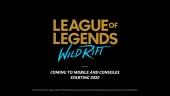 League of Legends: Wild Rift - Announce Trailer