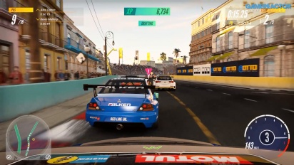 Project Cars 3 - Honda Civic Type R Racing on Havana Malecon Loop