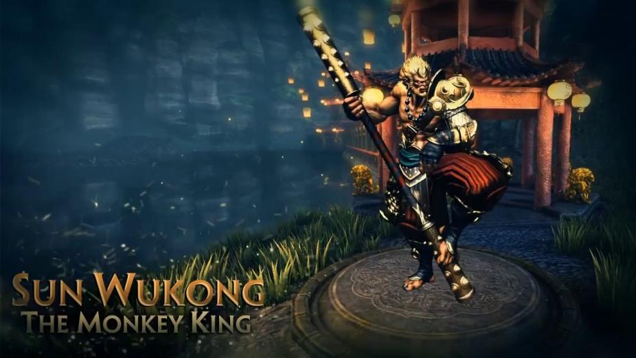 smite sun wukong the monkey king god reveal trailer