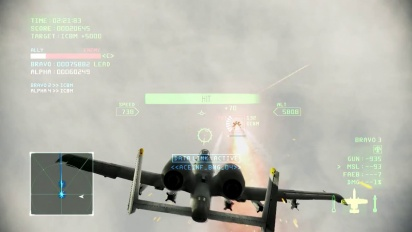 Ace Combat Infinity - Weapons Based Co-op mission Trailer