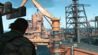 Metal Gear Solid V The Phantom Pain - Gamescom Mother Base Gameplay