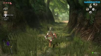 The Legend of Zelda: Twilight Princess HD - Relaxing Forest Walkaround Gameplay