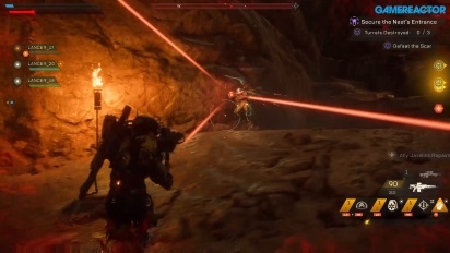 Anthem - Secure the Nest Gameplay Part 1