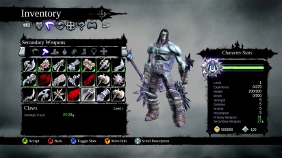 Darksiders II - Loot and Gear Trailer