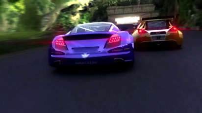 Ridge Racer Slipstream - A New Breed Of Racing Machine Trailer
