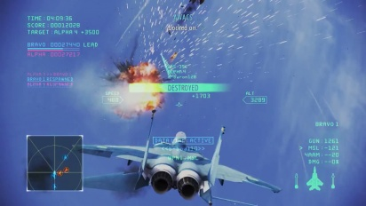 Ace Combat Infinity - Team Death Match Event Trailer