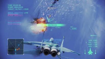 Ace Combat Infinity - Team Death Match Event Trailer