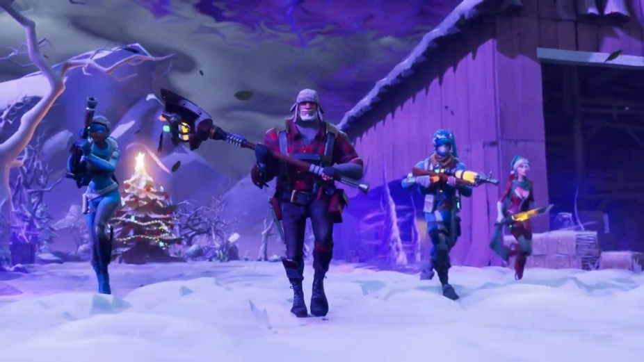 Fortnite survive the holidays save the world trailer - Fortnite save the world wallpaper ...