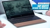 HP Envy x360 Wood - Quicklook