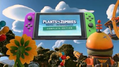 Plants vs. Zombies: Battle for Neighborville - Nintendo Switch Reveal Trailer