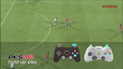 Pro Evolution Soccer 2012 - Hold Up Play Trailer