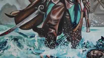 Assassin's Creed IV: Black Flag - Starlight Painting Timelapse