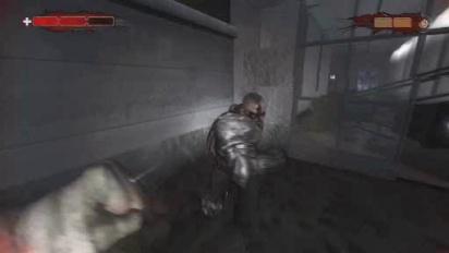 Condemned 2: Bloodshot - Door Frame Finishing Move Gameplay
