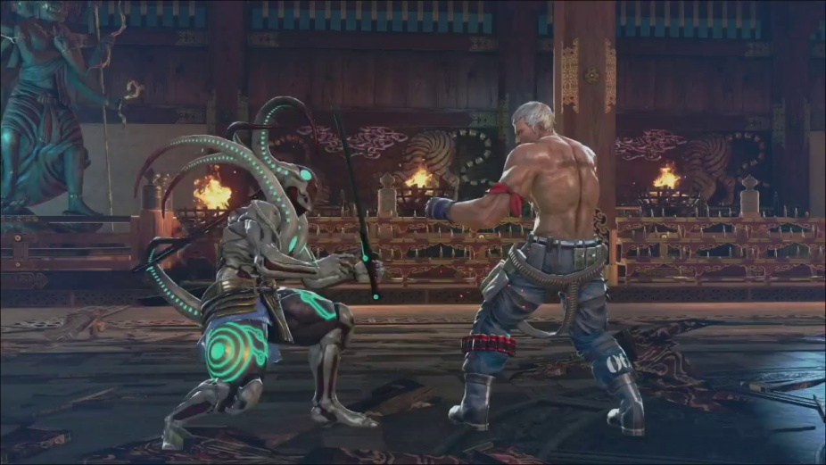 Check Out Tekken 7 S Tentacled Yoshimitsu