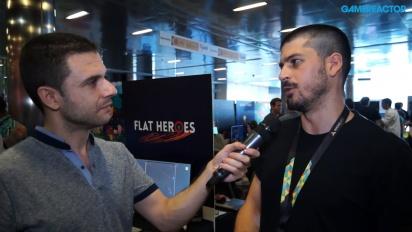 Flat Heroes - Lucas González Interview
