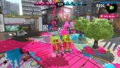 Splatoon 2 - Turf War Pink Team Gameplay at The Reef