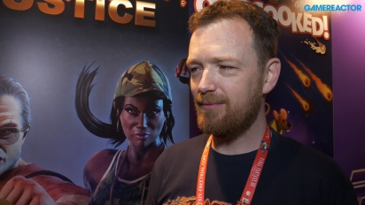 Raging Justice - Nic Makin Interview