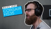 Corsair HS35 Stereo - Quick Look