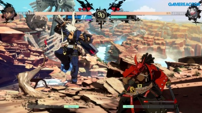 Guilty Gear: Strive - Sol Badguy vs. Nagoriyuki (Open Beta Gameplay)