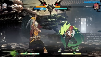 Guilty Gear: Strive - Chipp Zanuff vs. Giovanna (Open Beta Gameplay)