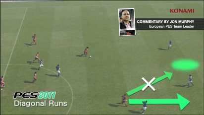 Pro Evolution Soccer 2012 - Diagonal Runs Trailer