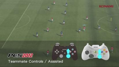 Pro Evolution Soccer 2012 - Teammate Assisted Trailer