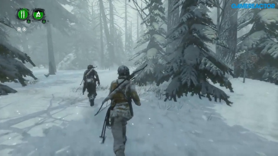Rise Of The Tomb Raider Endurance Ps4 Co Op Gameplay