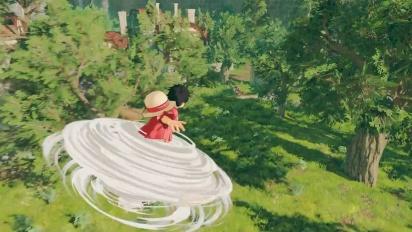 One Piece: World Seeker - Japanese Announcement Trailer