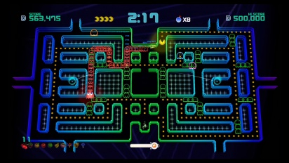 Pac-Man Championship Edition 2 Plus - Switch Gameplay
