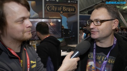 City of Brass - Andrew James Interview