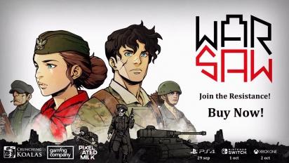 WARSAW - Launch Trailer (PS4, XB1, Switch)