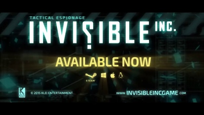 Invisible, Inc. - Launch Trailer