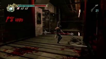 Ninja Gaiden 2 - Walkway Battle Gameplay Trailer