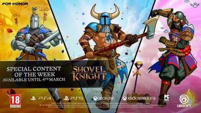 For Honor - Shovel Knight Collaboration Trailer